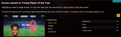 Young Player of the Year