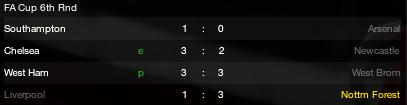 FA Cup 6th Round